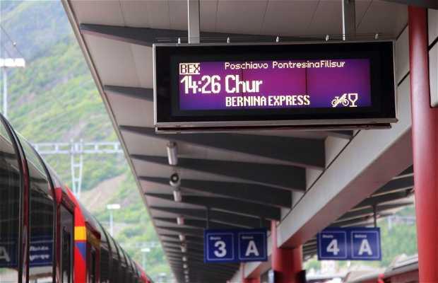 Bernina Express de Tirano a Chur