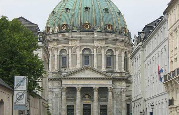 Iglesia de Mármol - Frederiks kirke - Marmorkirken