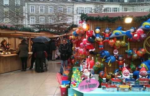 Le marché de Noël de la Place Clémenceau