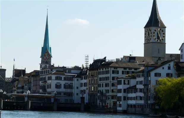 Fiume Limmat a Zurigo