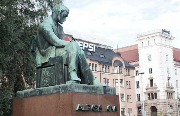 Statue Alexis Kivi
