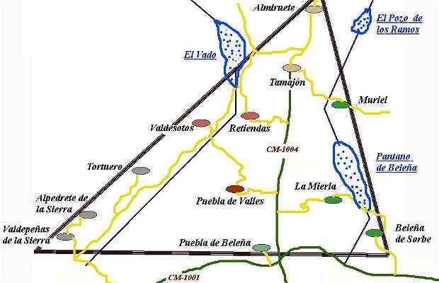 La Ribera, entre el Jarama y el Sorbe, en la Sierra Norte de Guadalajara