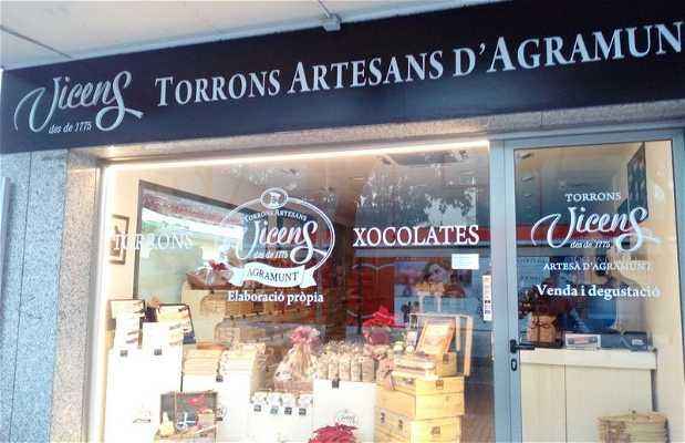 Torrons Vicens a Platja d'Aro