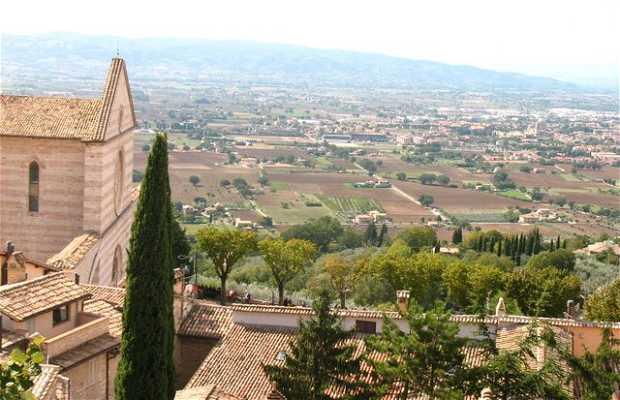 Paseo guiado por Assisi