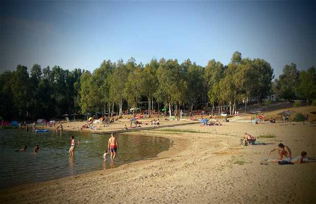 Playa de la Isla del Zújar
