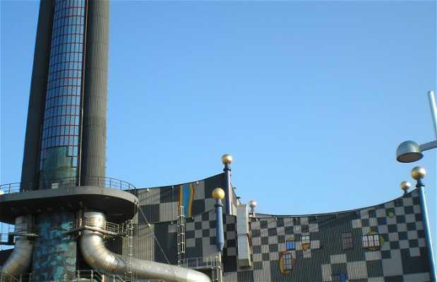 Planta de incineración de residuos, Spittelau (Austria)