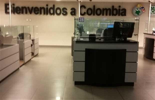 Migración Aeropuerto el Dorado