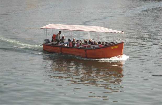 Paseo en barco en Udaipur