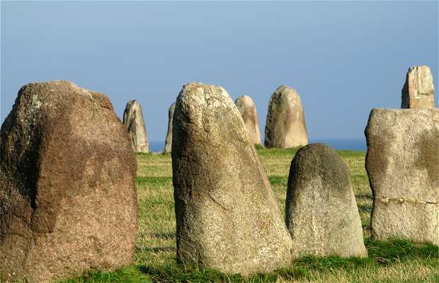 Monumento megalítico de Ale Stenar