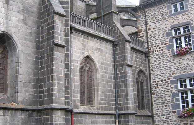 Cathedral of Saint Pierre in Saint Flour