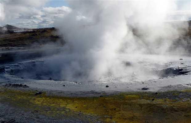 Area Geotermale di Gunnuhver