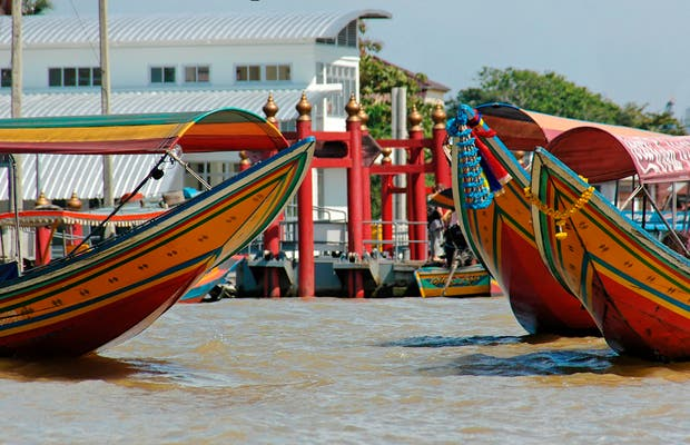 Fiume Chao Phraya a Bangkok