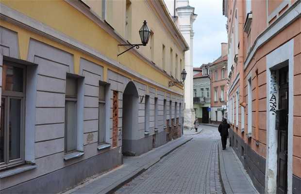 Stikliu gatve