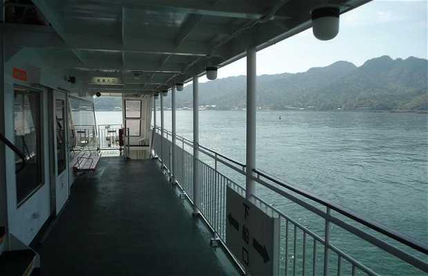 Le ferry pour Miyajima