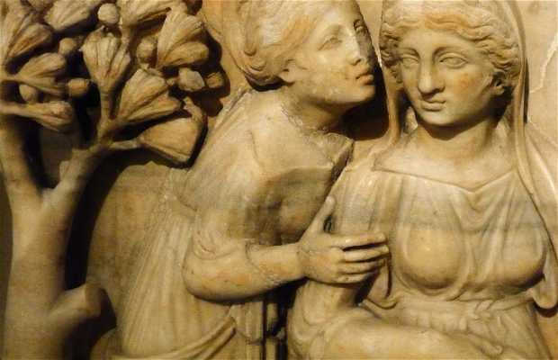Sarcófagos do período romano