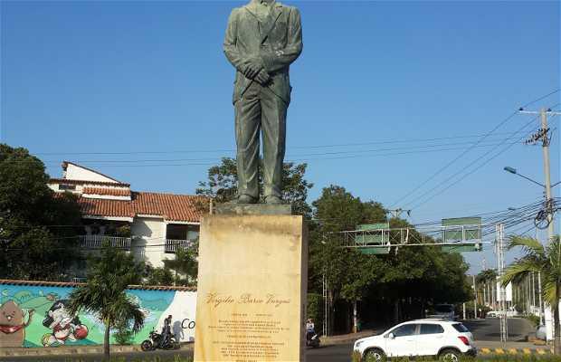 Estatua de Virgilio Barcos Vargas