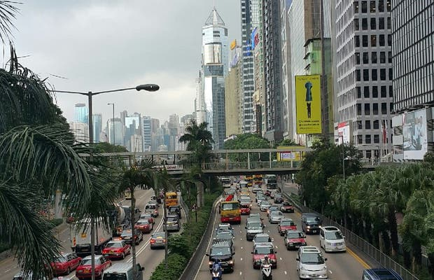 Wan Chai a Hong Kong