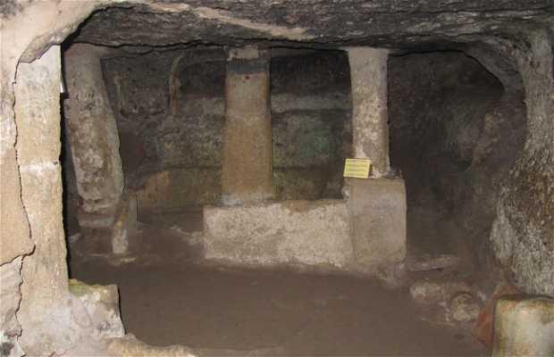 Catacombes église de Sant Antioco
