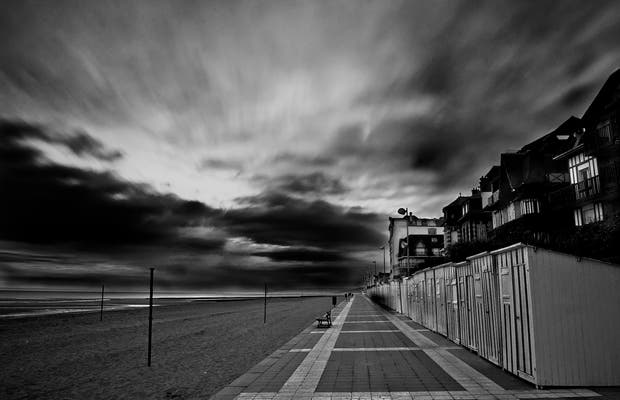 Playa de Houlgate