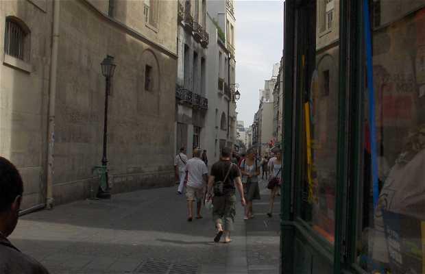 Calle Sainte Croix de la Bretonnerie