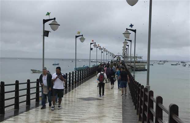 Malecon de Puerto Lopez