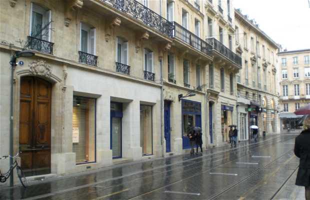 Via Porte Dijeaux a Bordeaux