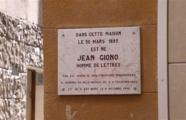 Maison de Jean Giono