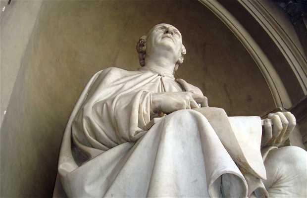 Statue of Filippo Brunellesch