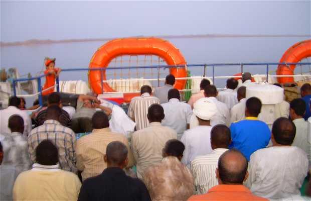 Barco a Sudán