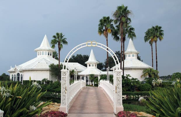 Wedding Pavillion Walt Disneyworld