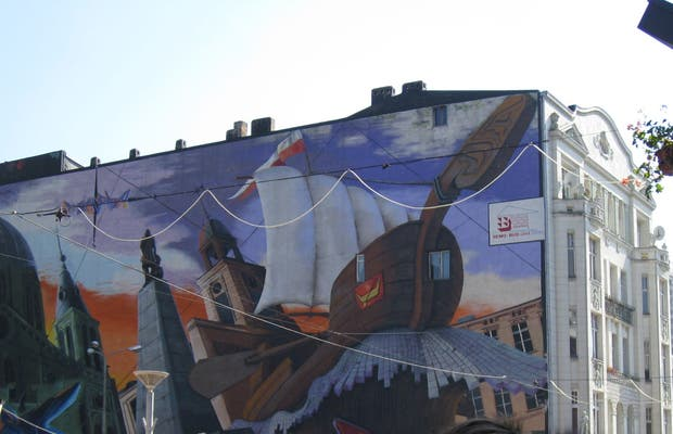 Mural calle Piotrkowska