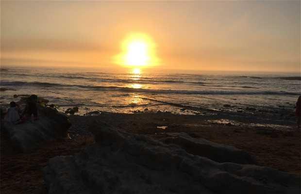 Playa de santa justa, cantabira