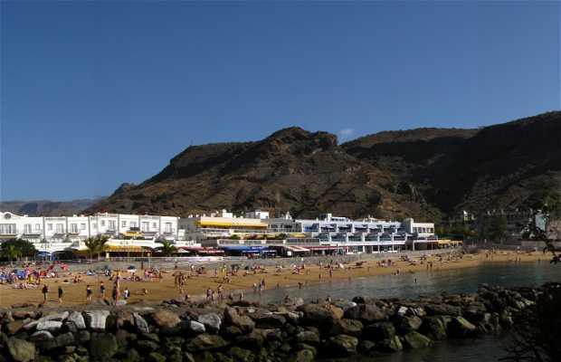 Puerto de Mogán beach