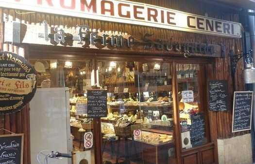 La fromagerie Ceneri