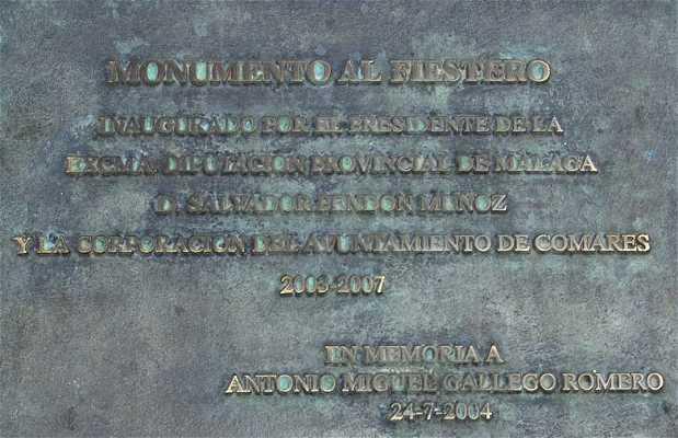 Monumento al Fiestero di Comares
