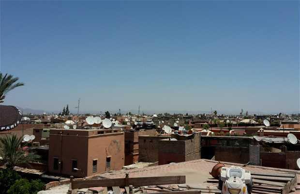 Terrasse marché berbère