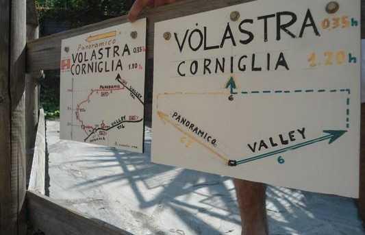 Randonnée vers Corniglia