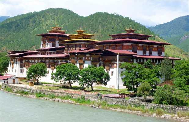 El Dzong de Punakha