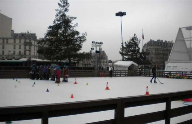 Pista de patinaje Montparnasse