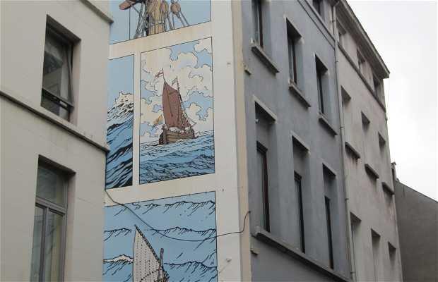 Mural Cori le Mousaillon - Bob de Moor