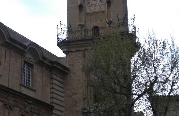 Vieux centre d'Aix