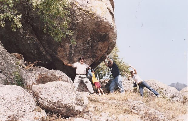 Le rocce giganti di Tapalpa