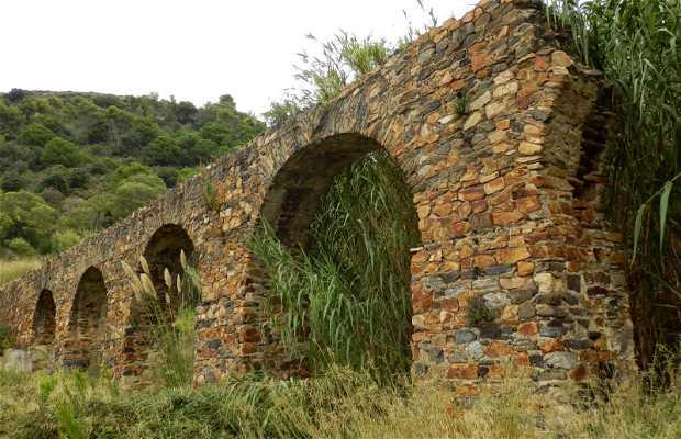Acueducto romano de Pineda de Mar