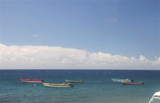 Le Carbet a Martinica