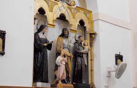 Interior Iglesia de Nuestra Sra. de la Asunción