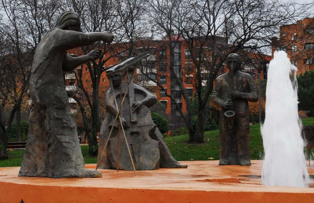 Fountain of the Musicians
