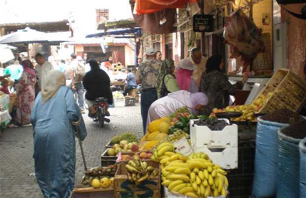 Via El Gza a Marrakech