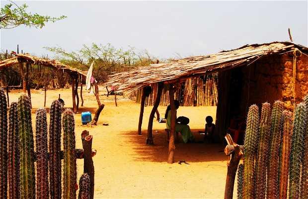 Caseríos wayúu (La Guajira)
