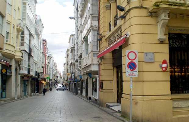 Calles comerciales de Ferrol