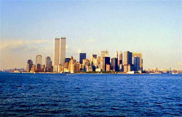 Manhattan desde el mar